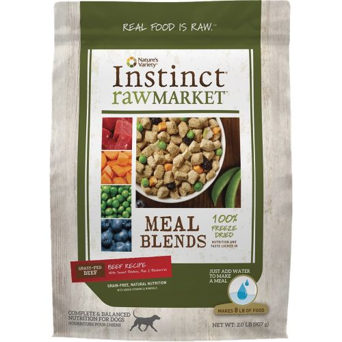 Nature's Variety - Instinct RawMarket Beef Recipe Grain-Free Freeze-Dried Dog Food