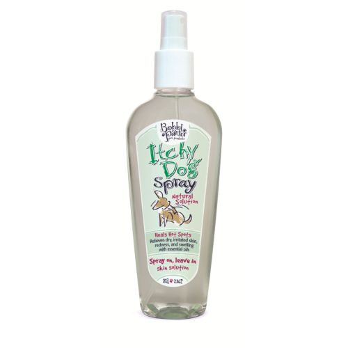 Bobbi Panter Pet Products - Itchy Dog Hot Spot Relief Spray On, Leave On Dog Coat Spray, 8oz
