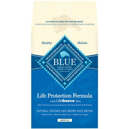 Blue Buffalo - Life Protection Adult Formula Chicken & Brown Rice Recipe Dry Dog Food