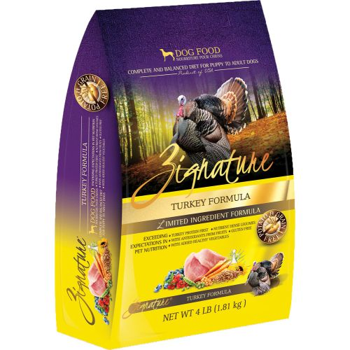 Zignature - Limited Ingredient Turkey Formula Grain-Free Dry Dog Food