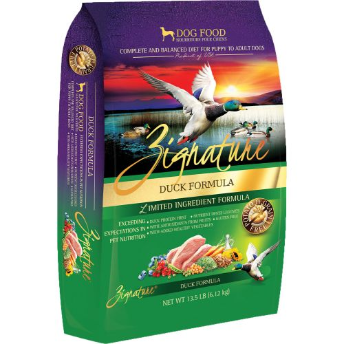 Zignature - Limited Ingredient Duck Formula Grain-Free Dry Dog Food