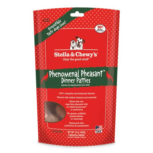 Stella & Chewy's - Phenomenal Pheasant Dinner Patties Grain-Free Freeze Dried Food