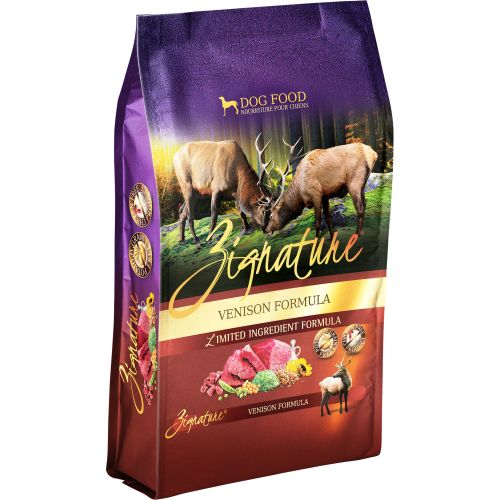 Zignature - Limited Ingredient Venison Formula Grain-Free Dry Dog Food