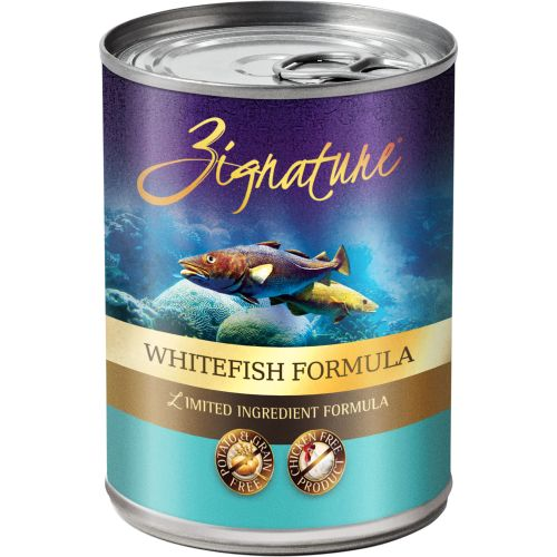 Zignature - Limited Ingredient Whitefish Formula Grain-Free Canned Dog Food