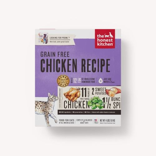 The Honest Kitchen - Prowl Chicken Recipe Dehydrated Grain-Free Cat Food, 4lb