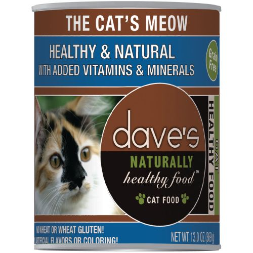 Dave's Pet Food - Naturally Healthy The Cat's Meow Grain-Free Canned Cat Food