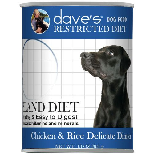 Dave's Pet Food - Restricted Diet Chicken & Rice Delicate Dinner Grain-Free Canned Dog Food