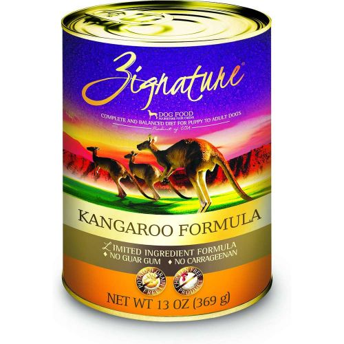 Zignature - Limited Ingredient Kangaroo Formula Grain-Free Canned Dog Food