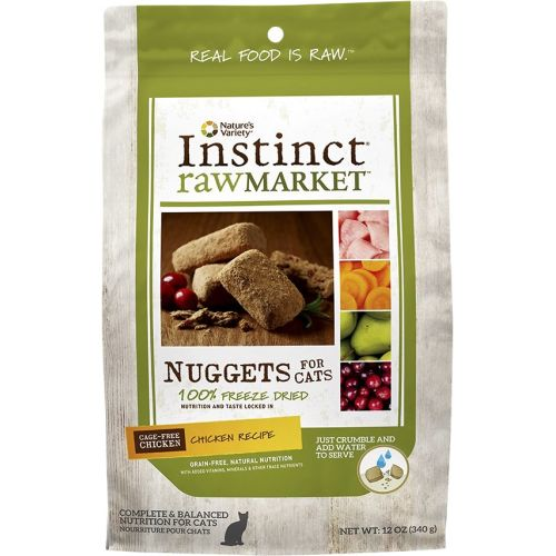 Nature's Variety - Instinct Raw Market Nuggets Chicken Recipe Freeze Dried Food For Dogs, 2oz