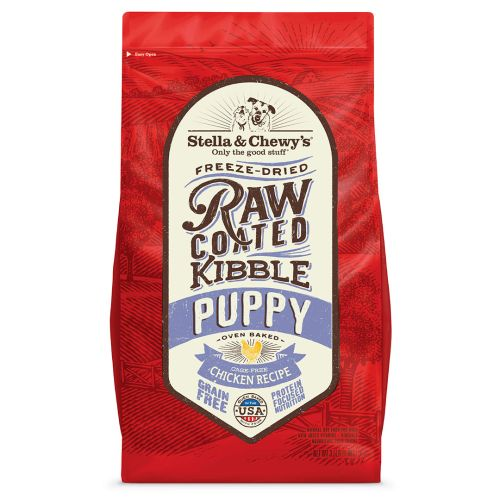 Stella & Chewy's - Raw Coated Kibble Cage-Free Chicken Recipe Puppy