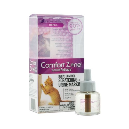 Comfort Zone With Feliway For Cats Diffuser Refill, 48mL