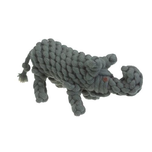 Aussie Naturals - Cotton Rope With Water Bottle Elephant