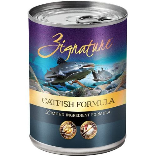 Zignature - Limited Ingredient Catfish Formula Grain-Free Canned Dog Food, 13oz