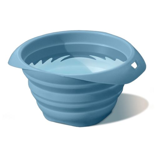 Kurgo - Collaps-a-Bowl Pet Travel Bowl - Blue
