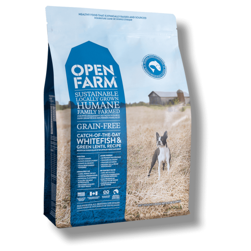 Open Farm - Catch Of The Day Grain Free Whitefish & Green Lentil Recipe Dry Dog Food