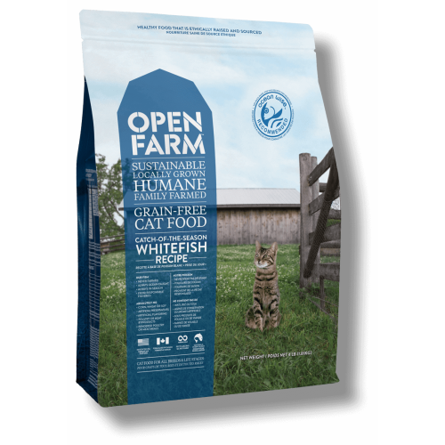 Open Farm - Catch Of The Season Grain Free Whitefish Recipe Dry Cat Food
