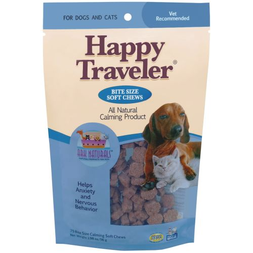 Ark Naturals - Happy Traveler Calming Soft Chews Natural Dog Supplement, 1.98oz