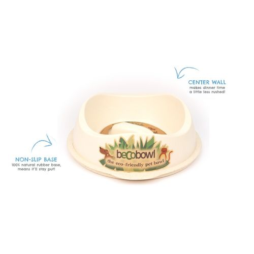 Beco - Slow Feed Bowl Natural, 10in