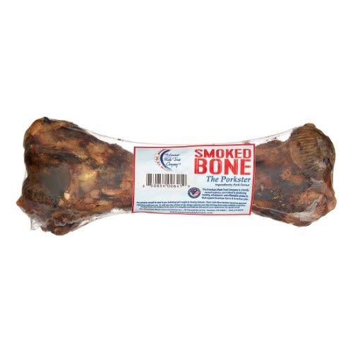 "American Made Treat Company - Smoked Pork Femur, 4""-6"""