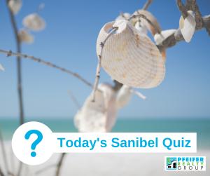 Sanibel island quiz