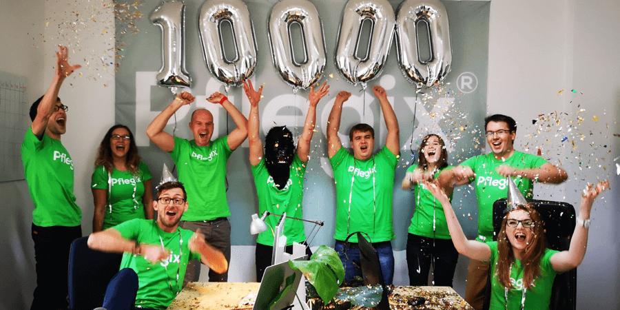 10.000 Helfer und nicht mehr zu stoppen!