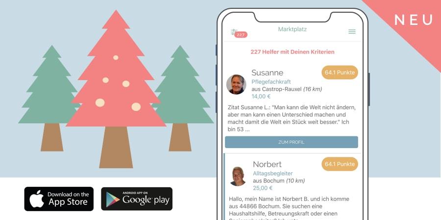 Die Pflegix App – jetzt auch für Familien verfügbar!