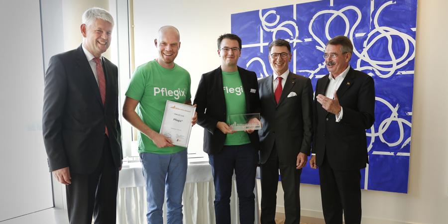 Pflegix mit dem SENovation-Award 2018 ausgezeichnet
