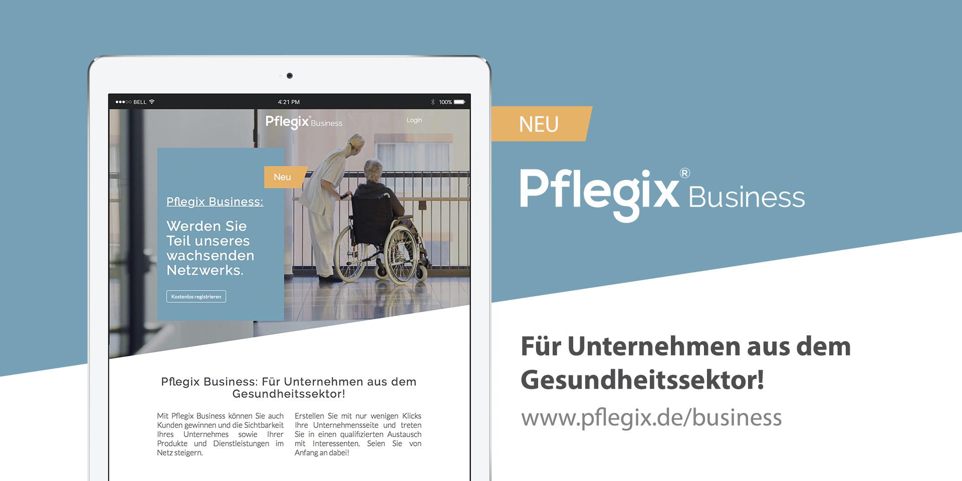 Pflegix öffnet Marktplatz für Unternehmen