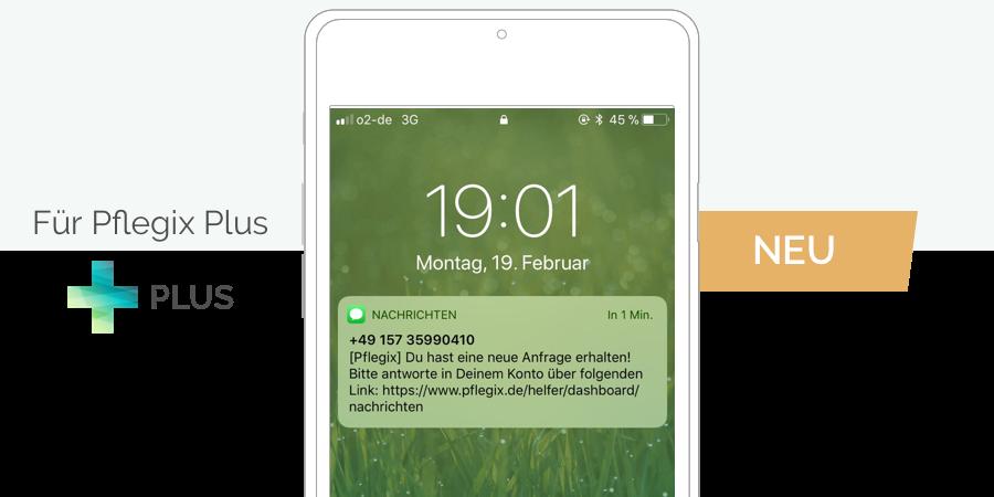 Neue Funktion: SMS-Benachrichtigung für Helfer