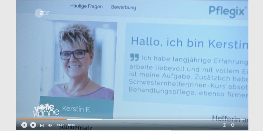 Pflegix im ZDF