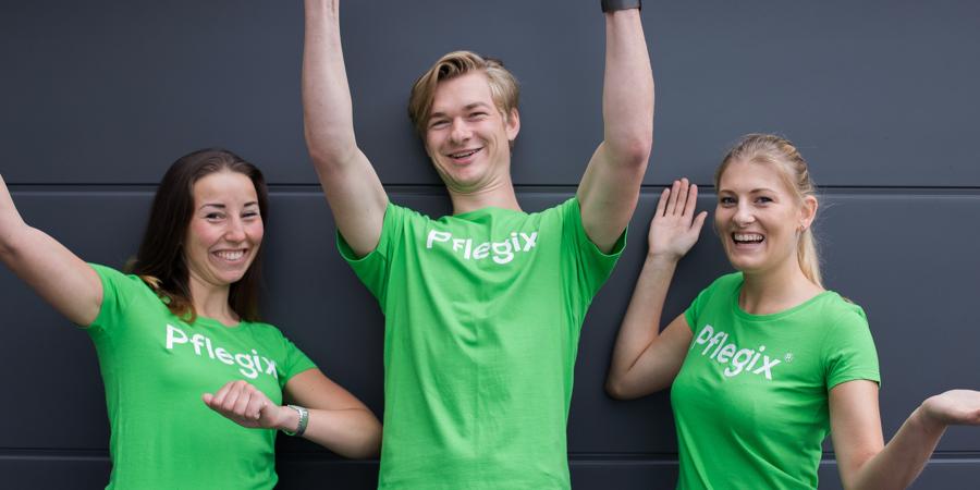 Pflegix startet Helfer-Suche in 12 Städten in NRW