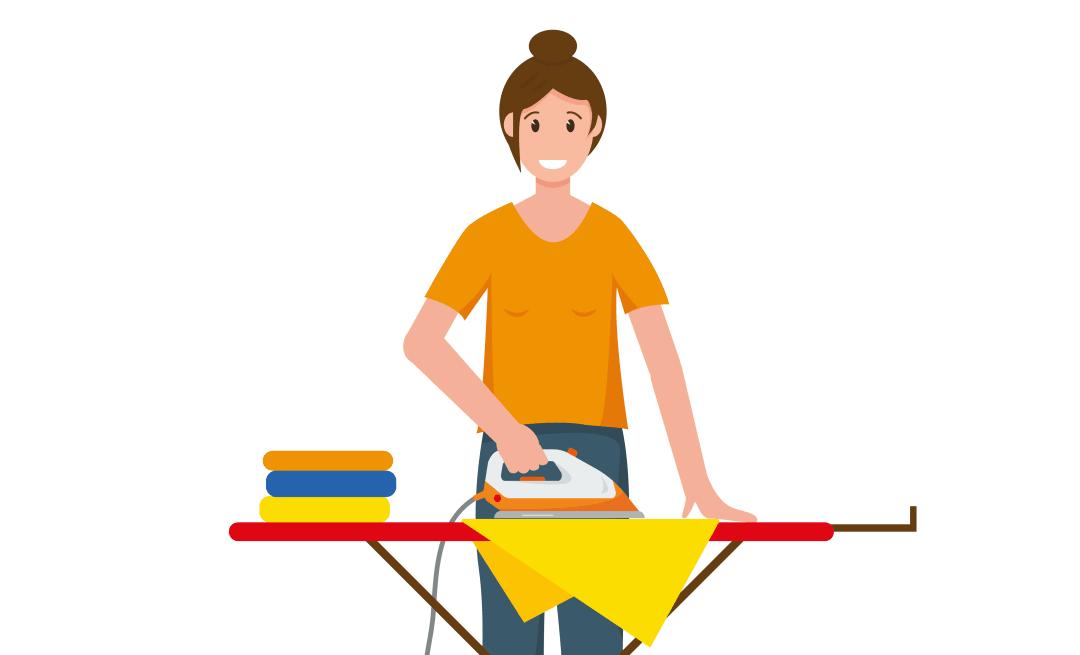 Kleine Hilfe mit großer Wirkung: Heike Helferin kümmert sich um Haushalt und Wäsche
