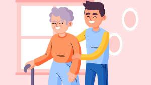 Gesellschaft & Betreuung - Heiko Helfer bringt als Seniorenbetreuer Abwechslung in den Alltag