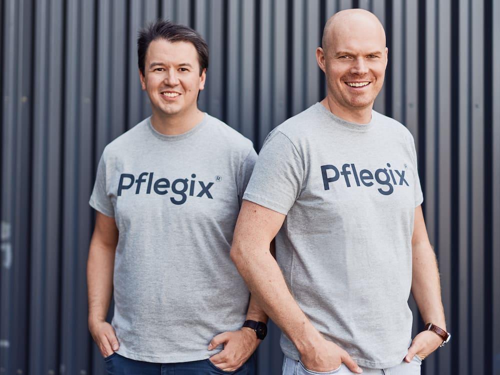 Die Gründer von Pflegix, Andreas Helget und Tim Kahrmann