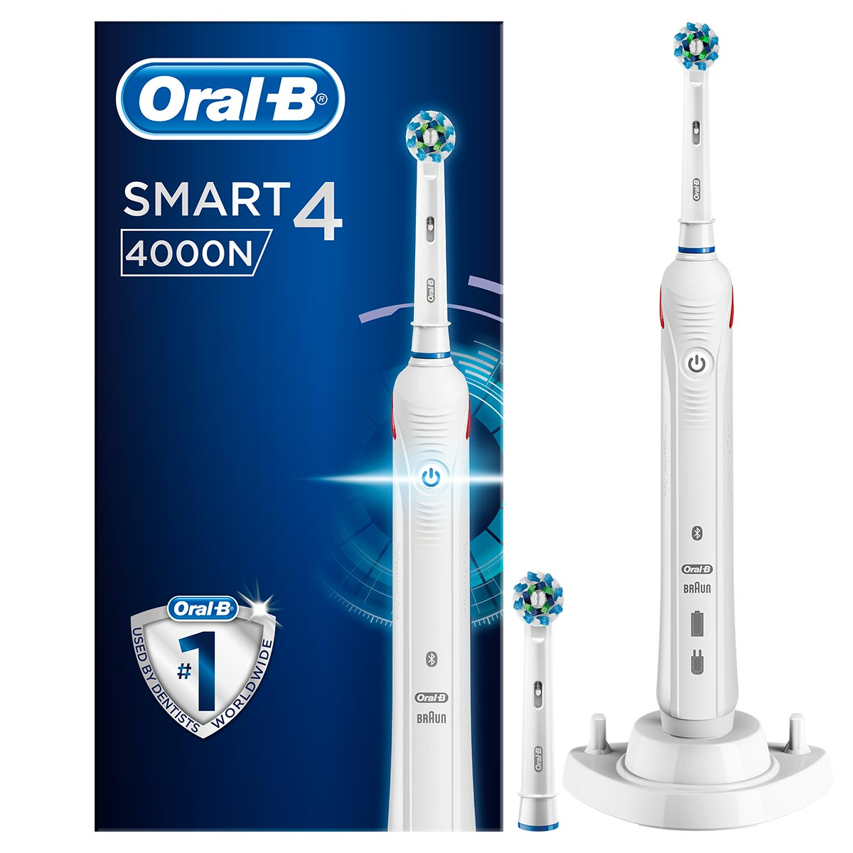 4000 CrossAction Electric Toothbrush | Oral B