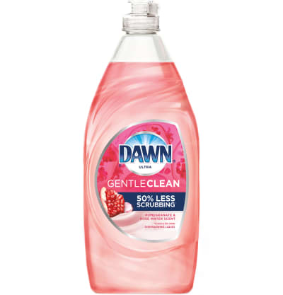 Dawn Gentle Clean™ Dishwashing Liquid, Pomegranate & Rose Water