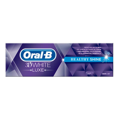 Oral-B 3D White Luxe Healthy Shine tandpasta undefined