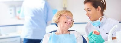 Denture Care Instructions and Tips article banner