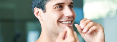 Does Flossing Help Bad Breath? article banner