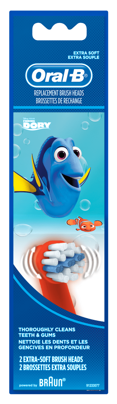Oral-B Pro-Health Stages Disney Finding Dory Sensitive Clean Replacement Brush Heads undefined