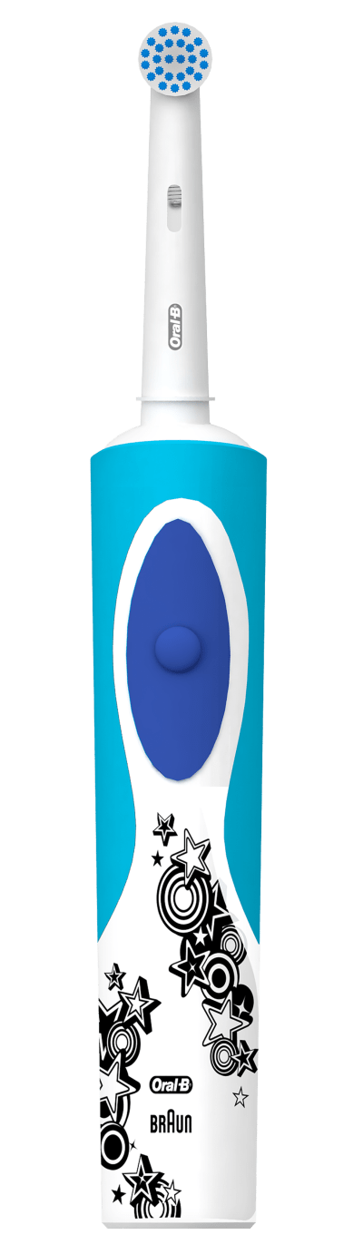 Oral-B Pro-Health Jr. Disney Frozen Vitality Power Toothbrush Including 2 Sensitive Clean Refills Kit undefined