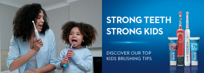 Oral-B Kids Tips and Tricks to Encourage Better Brushing article banner
