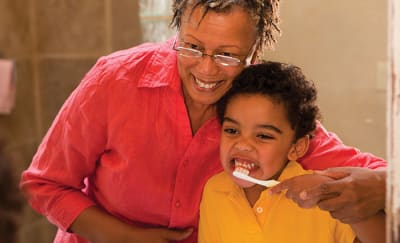 Talking to Carers About Your Child's Teeth article banner