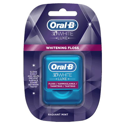 Oral-B 3D White Luxe Floss
