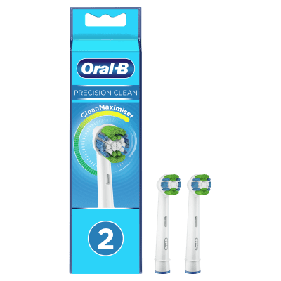 Replacement Brush Heads - Oral-B Precision Clean Replacement Brush Heads