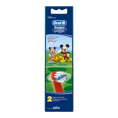 Oral-B Kids Replacement Toothbrush Heads - Mickey Mouse - 2 Pack