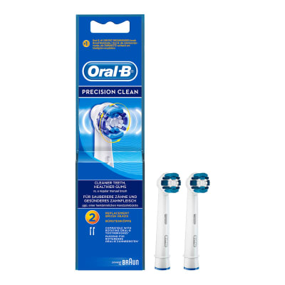 Precision Clean Replacement Brush Heads | Oral B