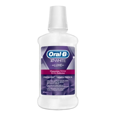 Oral-B Enjuague bucal 3D White Luxe Brillo Seductor undefined