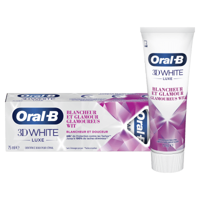 Dentifrice Oral-B 3D White Luxe Blancheur Et Glamour undefined