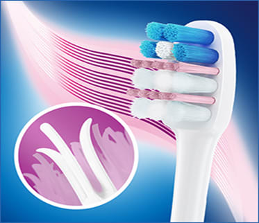 Gingival care Interdental Side by side image four